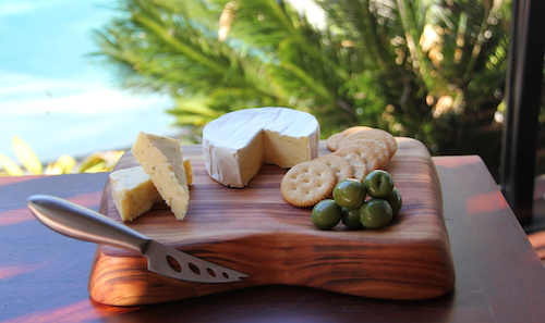 Small Wooden Cheese Board